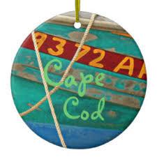 Cape Cod Christmas Ornament