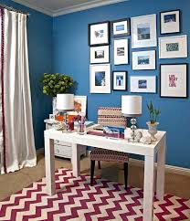home office dark blue gallery wall. Blue Office Wallpaper Home Wall Decor Ideas Cool Inspiration Marvelous Dark Gallery D