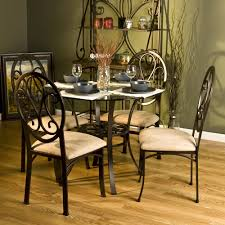 Image of: Interior Round Glass Dining Table