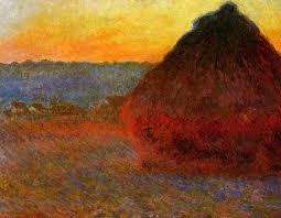 haystacks end of summer 1891