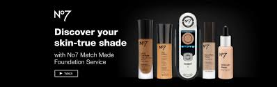 discover your skin true shade with no7 match made foundation service