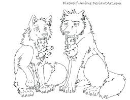 Anime Coloring Pages Free Printable Coloring Pages Wolves Winged
