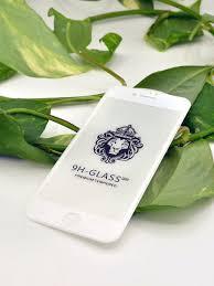 <b>Противоударное стекло</b> 2D для Apple iPhone 7/8 полностью клей ...