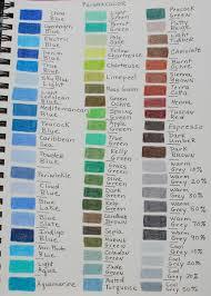 Timeless Prismacolor Colored Pencils Color Chart Prismacolor