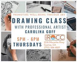 FREE Drawing Class with Professional Artist Carolina Goff Forsyth County  News