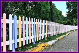 fence colours paint color ideas unbelievable impressive deck inspiration how to a amazing furniture steel wood