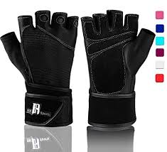 rimsports weightlifting gloves with wrist support workout gloves with wrist padding for lifting weights