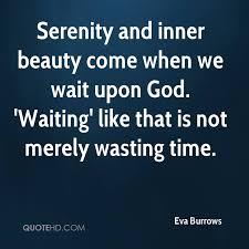 Serenity Quotes Unique Eva Burrows Quotes QuoteHD