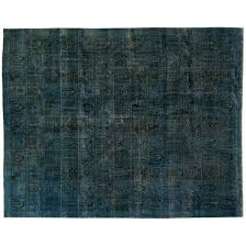 over dyed rugs blue rug dying persian
