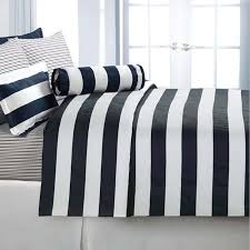 marvellous black and white striped quilt cover 87 for your target duvet covers with black and