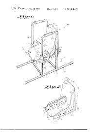 patent us4034426 bath tub lift chair apparatus google