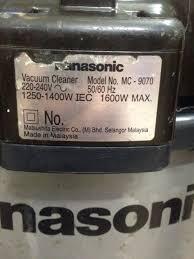 Máy hút bụi công nghiệp Panasonic - chodocu.com