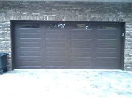 dark brown garage doors full size of garage garage doors collection long panel in large size dark brown garage doors