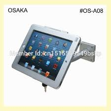 for ipad wall mount with safety specialized frame display table top lock mounting for 9 7 ipad 2 3 4 air pro 2017 9 7