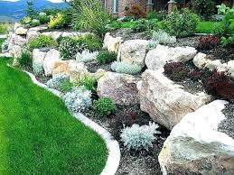 big rocks for garden for large rock landscaping ideas