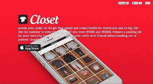 closet clothing organized