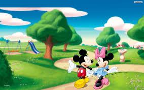 mickey and minnie desktop wallpaper wallpapersafari