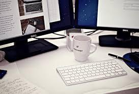 office desk top. Office Desk Photo. Writing Keyboard Technology Cup Workspace Desktop Mug Work Space Blogging Top I