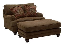 Overstuffed Living Room Chairs Furniture Stylish Chair And A Half With Ottoman Design