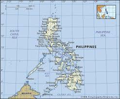 Philippine Languages Comparison Chart Philippines History Map Flag Population Capital