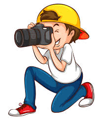 Resultado de imagen de fotógrafos dibujo