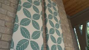 well known how to make outdoor fabric wall art you within diy fabric panel wall