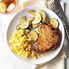 basil pork chops