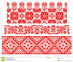 Romanian traditional carpet theme