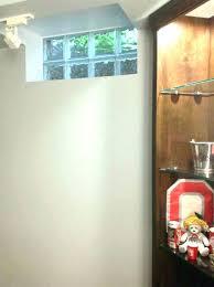 glass block basement windows cost unique dryer vent window kit basement water resistance ventilation through collection
