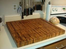 island custom made ambrosia maple end grain chopping board butcher block