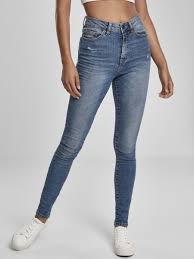Джинсы <b>Ladies</b> High Waist Skinny Jeans (женские) <b>URBAN</b> ...