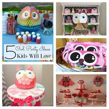 Owl Balloon Decorations Popular Owl Birthday Party Ideas The Kids Will Love