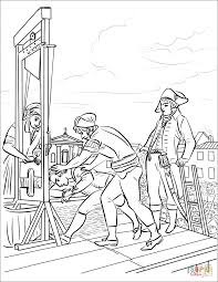 Death Of Robespierre Coloring Page Free Printable Coloring Pages