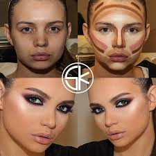 contouring to slim face 108 best le contouring images on