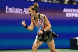 US Open: Maria Sakkari stuns Karolina Pliskova in quarterfinals