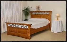 Wood and iron bedroom furniture Rustic Sofia Complete Bed Great Southwest Furniture Design Inc Sofia Custom Southwest Bedroom Set