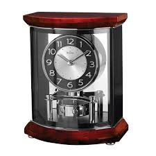 frank lloyd wright collection willits mantel clock by bulova hayneedle