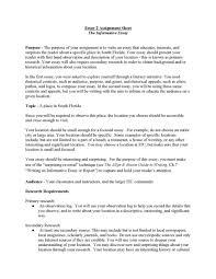 Informative Essays Examples Exploratory Essay Examples Format Example Of An Sample