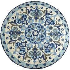 8 round rugs fl and blue on rug bath mohawk area x 12 5 macys 11 8 round rugs