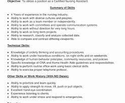 Free Cna Resume Samples Examples Sample Nursing Assistant Entry ...