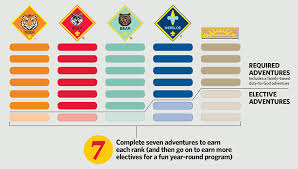 Tiger Advancement Chart How To Transition Your Pack To The New Cub Scouting Program