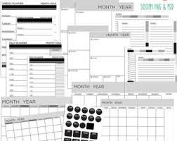 Editable Planner Etsy