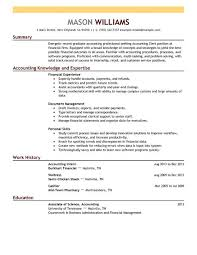 Accounting Clerk:Resume Example. Create My Resume
