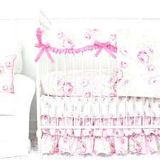 decoration chic crib bedding contemporary shabby rose vintage fl set ruffle lane girl sets