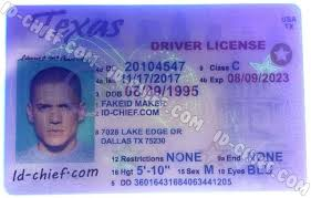 Id Id-chief Cards Fake Texas Scannable Maker