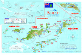 download map of bvi  major tourist attractions maps