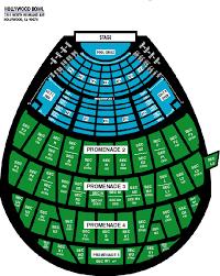 Hollywood Seating Chart Hollywood Bowl Seating Chart In 2019 Hollywood Bowl