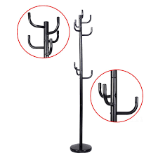 Metal Tree Coat Rack Amazon New Metal Coat Rack Hat Stand Tree Hanger Hall Umbrella 85