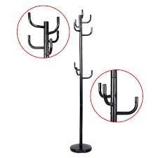 Metal Tree Coat Rack Amazon New Metal Coat Rack Hat Stand Tree Hanger Hall Umbrella 85