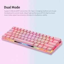 <b>Motospeed CK62</b> 61 Keys RGB Mechanical Keyboard USB <b>Wired</b> ...